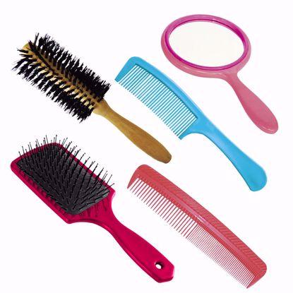 Imagem de Kit  para cabelo com 5 peças